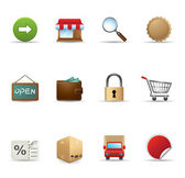 Web Icons - More Ecommerce — Stock Vector