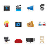 Web Icons - Movies — Stock Vector