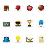 Web Icons - School — Stock Vector