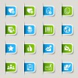 Royalty-Free Stock Vector Image: Office and Business Web icons