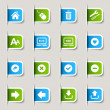 Label - Website and Internet Icons - Image vectorielle