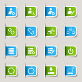 Label - Website and Internet Icons — Stock Vector