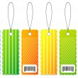 Vector labels — Stock Vector
