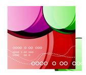 Abstract vector banner — Stock Vector