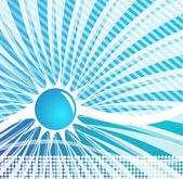Tasarlamak vektör mavi arka plan — Stok Vektör
