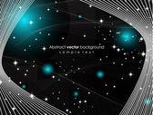 Temný prostor pozadí — Stock vektor