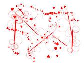 Valentinstag Hintergrund — Stockvektor
