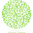 Green nature leaf concept — Stock Vector #10202444