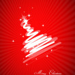 Energy Christmas background — Stock Vector