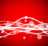 Energy Christmas background — Stock Vector