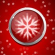 Red Christmas abstract background — Stok Vektör #10260263