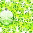 Green Christmas concept — Stock Vector #10260636