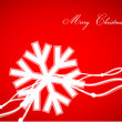 Vetorial Stock : Red Christmas abstract background