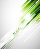 Fondo abstracto líneas verdes — Vector de stock