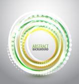 Shiny circle background — Vector de stock