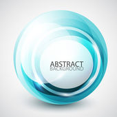 Abstract swirl sphere background — Stock Vector