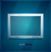 фон экрана стекла — Cтоковый вектор