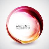Círculo de energía abstracta del remolino — Vector de stock