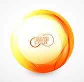 Pomarańczowy kula — Wektor stockowy