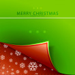 Stock Vector: Vector Christmas background