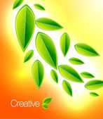 Shiny nature background — Stockvector
