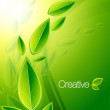 Nature creative background - Imagens vectoriais em stock