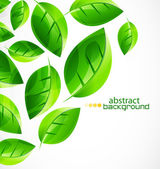 Nature green concept background — Stockvector