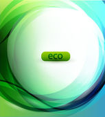 Eco-friendly sphere background — Stock Vector
