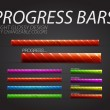 Stock Vector: Progress bars
