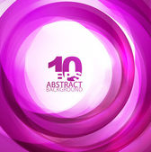 Violet abstract swirl background — Stock Vector