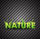 Nature background — Vecteur
