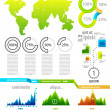 Infographic set — Stock Vector