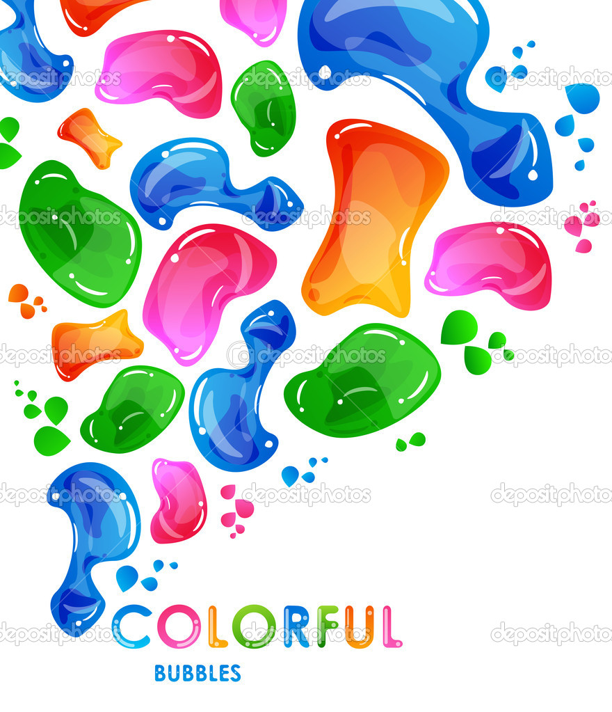 Colorful funny vector abstract background — Stock Vector #9170253