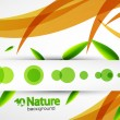 Vector nature abstract background — Stock Vector