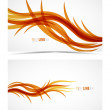 Abstract wave lines - Stock Vector