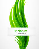 Vector nature abstract background — ストックベクタ