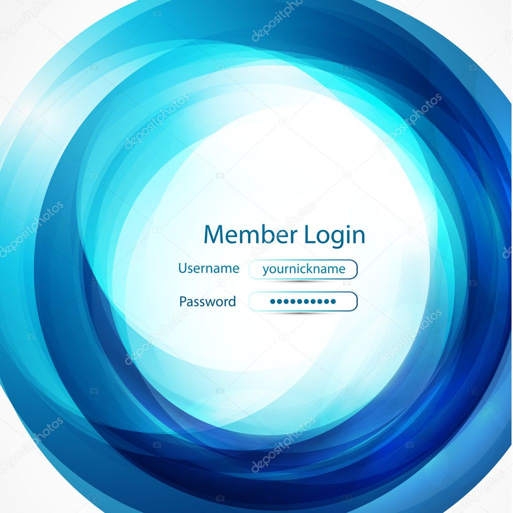 Login Forms Background Background With Login Form