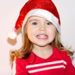 The little girl in a New Year's hat — Stock Photo #8020298