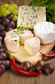 法国布里乳酪 — 图库照片