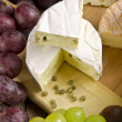 Stock Photo: Different cheese kinds