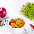 Gulaschsuppe - Stock Photo