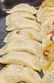 A plateful of traditional Christmas Eve Pierogi - Poland — Stock Photo