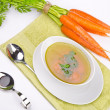 Clear broth — Stock Photo
