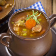 Calf's fricassee - Stock Photo