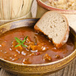 Goulash soup - Stock Photo