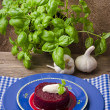 Stock Photo: Beetroot with horseradish