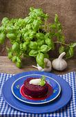 Beetroot with horseradish — Stock Photo