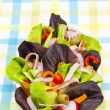 Fitness salad — Stock Photo