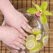 Wellness for hands — Stock Photo