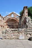 The ruins of the old church. — Foto de Stock